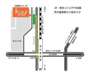 ESD-J map